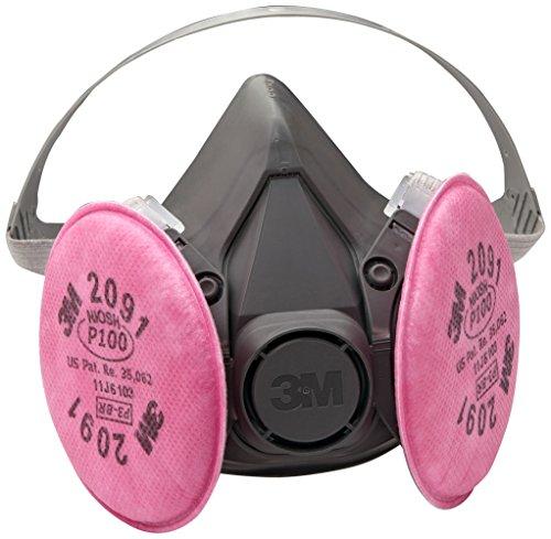 p100 mask 3m